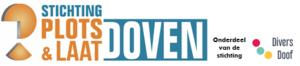 logo Stichting Plotsdoof onderdeel van stichting Divers Doof